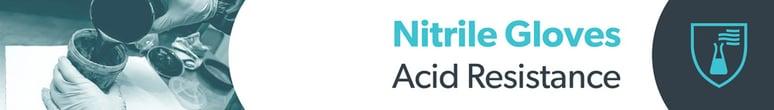 Nitrile Gloves Acid Resistance - Unigloves Blog